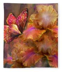 Goddess Of Sunrise Fleece Blanket