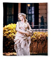 Goddess Of The South Fleece Blanket