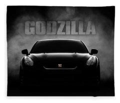 Godzilla Fleece Blanket