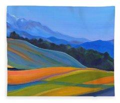 Going To California Fleece Blanket