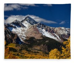 Golden Afternoon Fleece Blanket