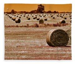Golden Country Fleece Blanket