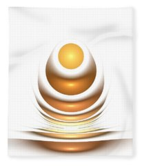 Golden Egg Fleece Blanket
