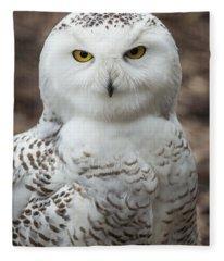 Golden Eye Fleece Blanket