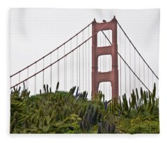 Golden Gate Bridge 1 Fleece Blanket