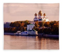 Golden Hour. Yaroslavl. Russia Fleece Blanket