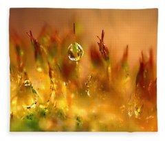 Golden Palette Fleece Blanket
