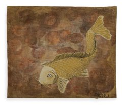 Golden Pond Fleece Blanket