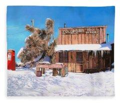 Goldpoint-nevada Fleece Blanket