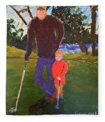 Golfing Fleece Blanket