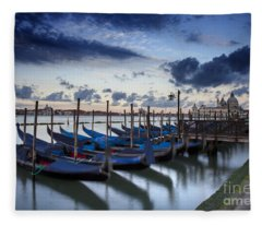 Gondolas Fleece Blanket