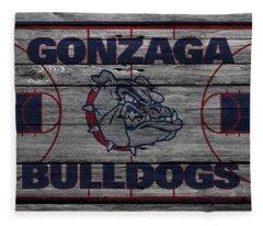 Gonzaga Bulldogs Fleece Blanket