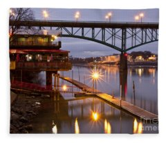 Good Morning Knoxville Fleece Blanket
