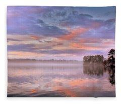 Good Morning Fleece Blanket
