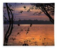Goodnight Lake Fleece Blanket