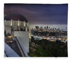 Gotham Griffith Observatory Fleece Blanket