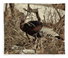 Gould's Wild Turkey Xii Fleece Blanket