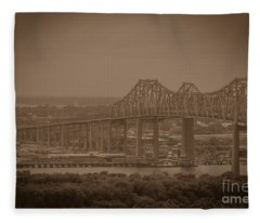 Grace And Pearman Bridges Fleece Blanket