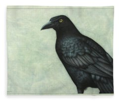 Grackle Fleece Blanket