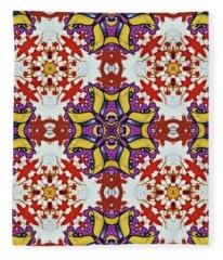 Graffito Kaleidoscope 40 Fleece Blanket