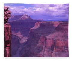 Grand Canyon, Arizona, Usa Fleece Blanket