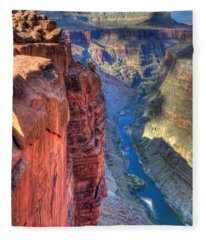 Grand Canyon Awe Inspiring Fleece Blanket