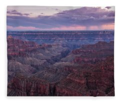 Grand Canyon North Rim Fleece Blanket