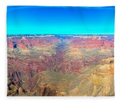 Grand Canyon Panorama Fleece Blanket