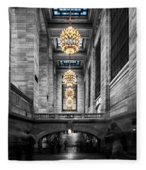 Grand Central Station IIi Ck Fleece Blanket