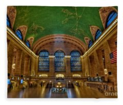 Grand Central Station Fleece Blanket