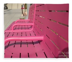 Grand Park Pink Fleece Blanket