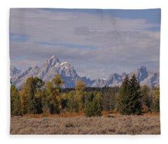 Grand Teton Fleece Blanket