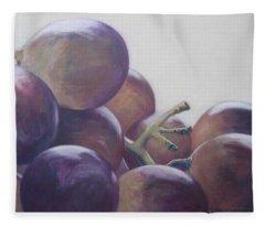 Grapes No.5 Fleece Blanket