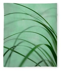 Grass Impression Fleece Blanket