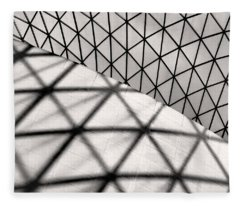 Great Court Abstract Fleece Blanket