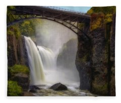 Great Falls Mist Fleece Blanket