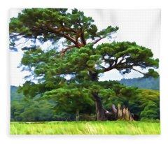Great Pine Fleece Blanket