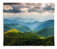 Great Smoky Mountains National Park Fleece Blankets