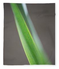 Green Abstract Fleece Blanket