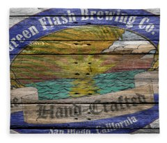 Green Flash Brewing Fleece Blanket