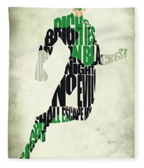 Green Lantern Fleece Blanket