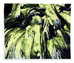 Green Fleece Blanket