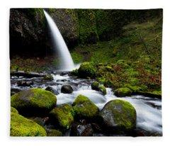 Green Mile Fleece Blanket