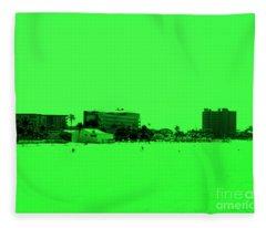 Green View. Special... Fleece Blanket