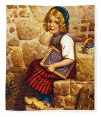 Gretel Brothers Grimm Fleece Blanket