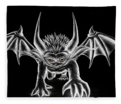 Grevil Chalk Fleece Blanket