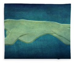 Greyhound Fleece Blanket