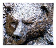 Grizzly Bear 2 Fleece Blanket