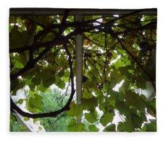 Gropius Vine Fleece Blanket