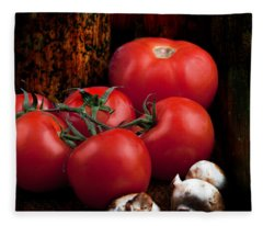 Group Of Vegetables Fleece Blanket